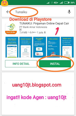 Pinjaman Tunaiku Kode Agen uang10jt Pinjaman Uang Jakarta