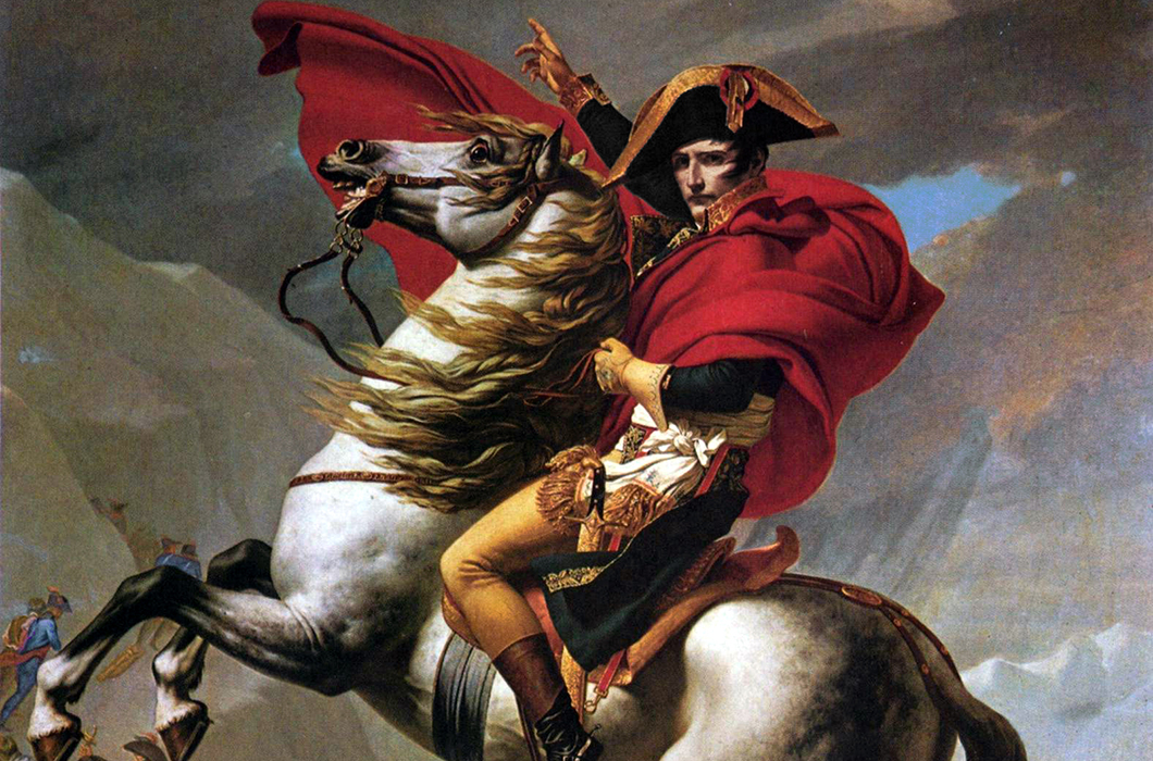 visual analysis jacques louis david s napolean crossing the alps I like his version of jacques-louis david's painting, napoleon crossing the alps jacques-louis david's version he used the same composition as the original but with a few changes.