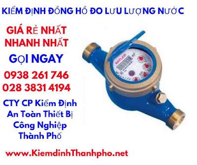 Kiem Dinh Dong Ho Do Luu Luong Nuoc