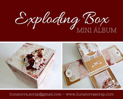 Exploding box o caja explosiva mini album
