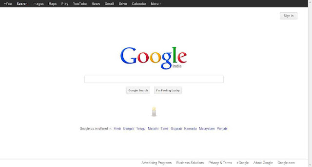 Google's Tribute : Kindled a Candle for Damini: In Memory of the Delhi's Braveheart!
