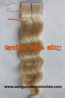 Peruvian tape hair extension