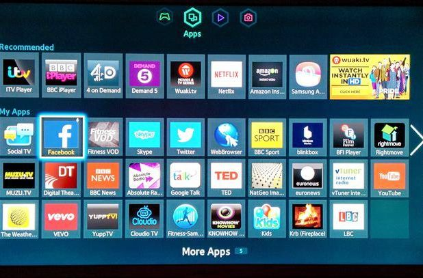 All Available Smart TV Apps For Samsung Available on Smart Hub