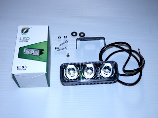 Led Tembak Cree 6 watt 3 Sisi