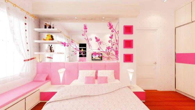Warna pink dengan warna cerah