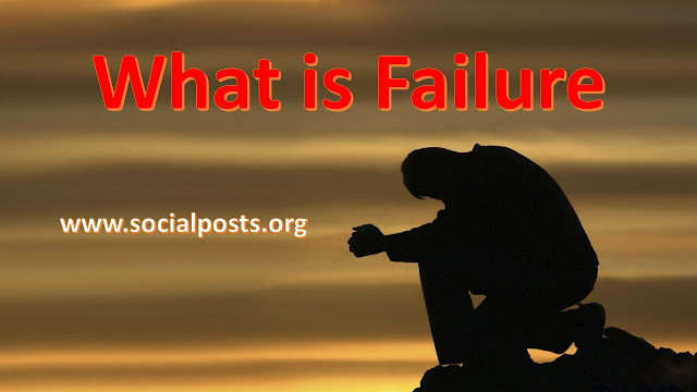 factors of failure in life