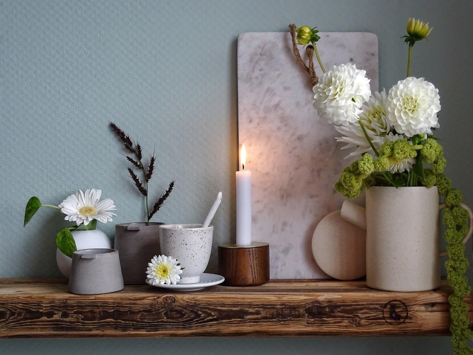 Küchen Makeover Mit Neuer Wandfarbe In Mint + Styling Ideen Für Regale +  Deko