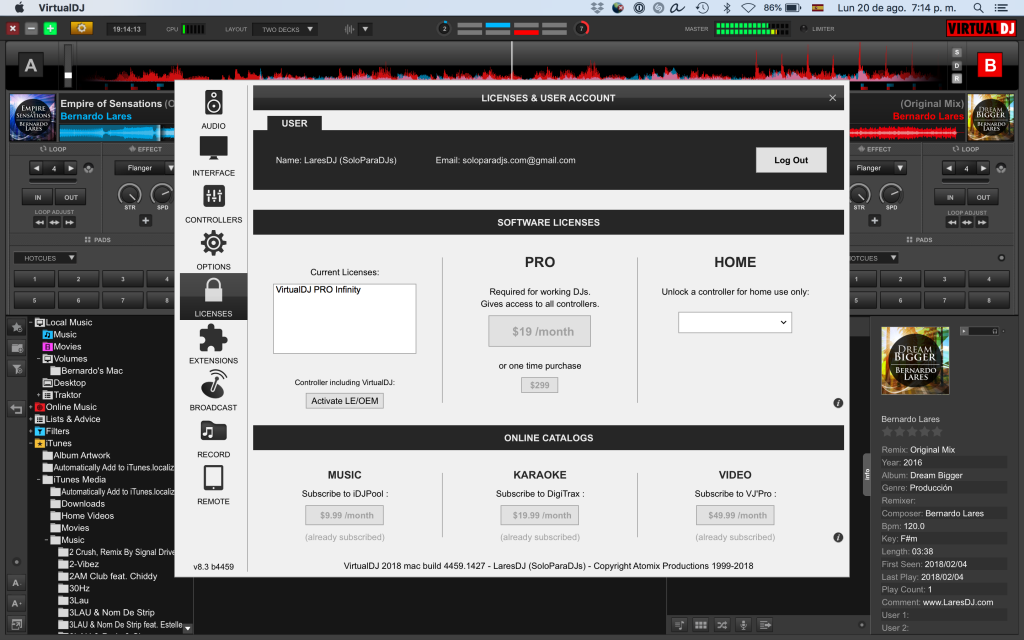 virtual dj pro 8 full crack and keygen free download
