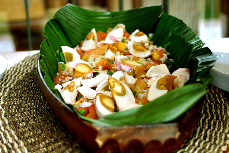 Pako (Fern) Salad Recipe