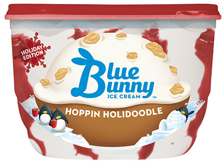 On second scoop ice cream reviews blue bunny holi doodle for Christmas cookie blue bell ice cream