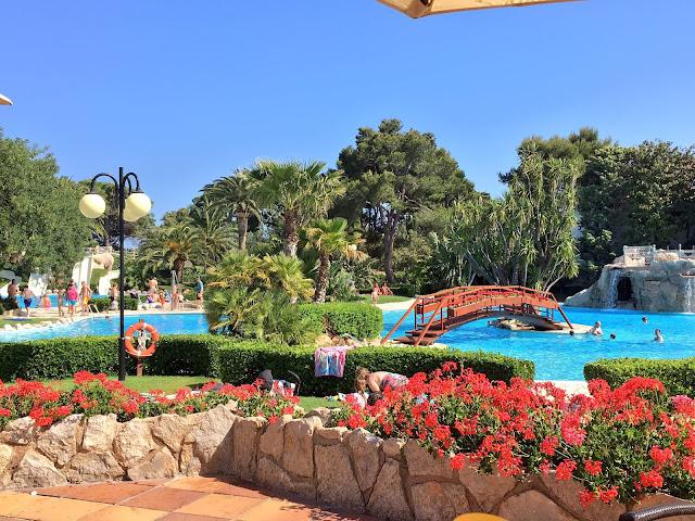 pool in Spain