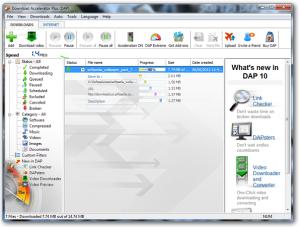 برنامج Download AcceleratorPlus