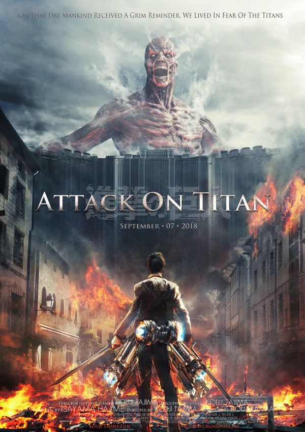 "Unofficial ""Attack on Titan"" Film Poster Gathers Attention"