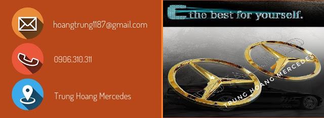 Bảng báo giá xe chi tiết Mercedes C250 Exclusive 2017