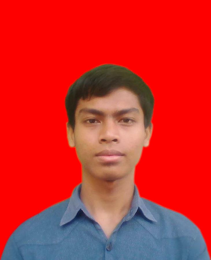 Kode Warna Background Biru dan Merah di Pas Foto Anda