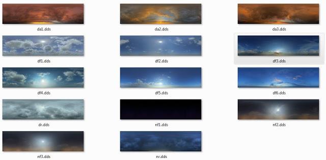 Real Sky Mod untuk PES 2014 sampai 2017 dari Pribowo