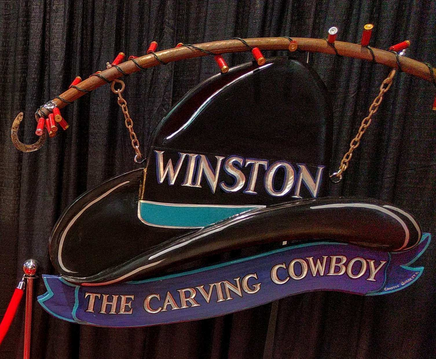 be sure and stop by winstons booth at the east door entrance of the south hall in the las vegas convention center they have in addition a 55 inch vertical