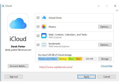iCloud for Windows & MAC, Setup  iCloud for iPhone, iPad & iPod Touch