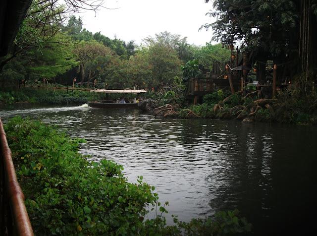 The Jungle Cruise Ride Hong Kong Disneyland