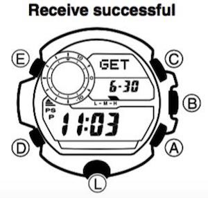 G-Shock Rangeman: Radio Controlled Atomic Timekeeping : To