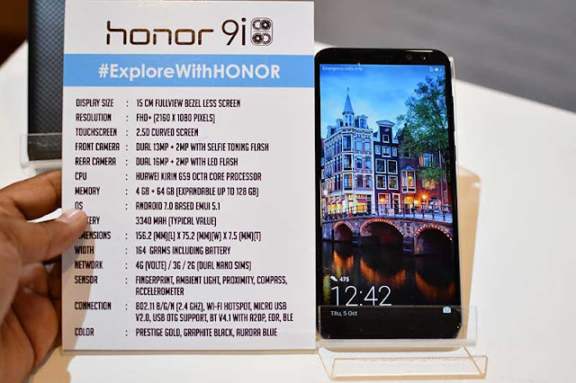 HONOR 9i specification