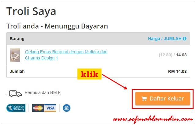 Cara dan Kaedah Pembayaran Barangan CHILINDO Malaysia Menggunakan ATM atau TRANSFER ONLINE - Sofinah Lamudin