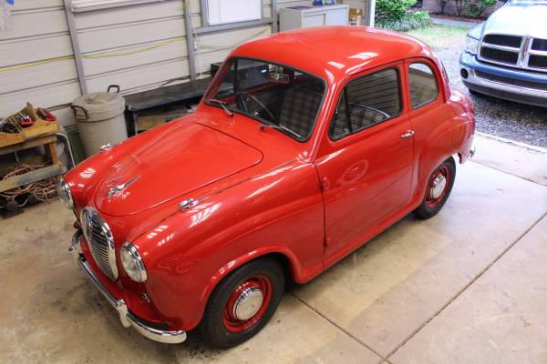 Completely Restored, 1958 Austin A35