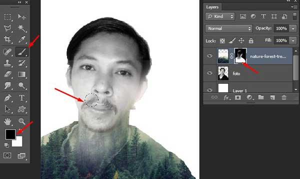 Cara Edit Foto Efek Double Exposure Di Photoshop Cara Edit Foto Efek Double Exposure Di Photoshop