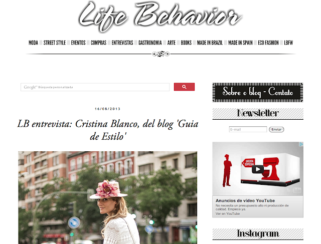 Life Behaviour  - Interview-282-cristinablanco