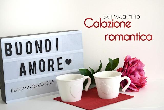 La casa dello stile: Colazione romantica