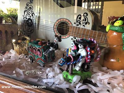 Artesanías Michoacanas en Hotel Mansión Iturbe en Pátzcuaro