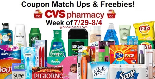 http://www.cvscouponers.com/2018/07/cvs-coupon-matchups-freebies-729-84.html