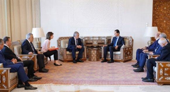 ما الذي عرضته الرياض على دمشق .. وماذا نقل الروس للرئيس الأسد ؟