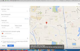 thiết lập google place