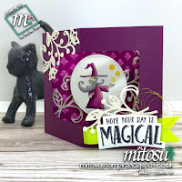 Stampin' Up! Magical Day Fancy Fold Card Idea order from Mitosu Crafts UK Online Shop