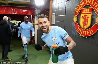 Highlight Man United 1-2 Man City, 10 Desember 2017