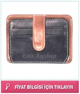 isim yazılı cüzdan