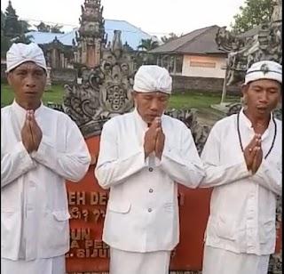 Ketua Adat Umat Hindu Kabupaten Belitung, Tolak Aksi People Power
