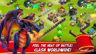 Screenshot: Castle Clash Apk