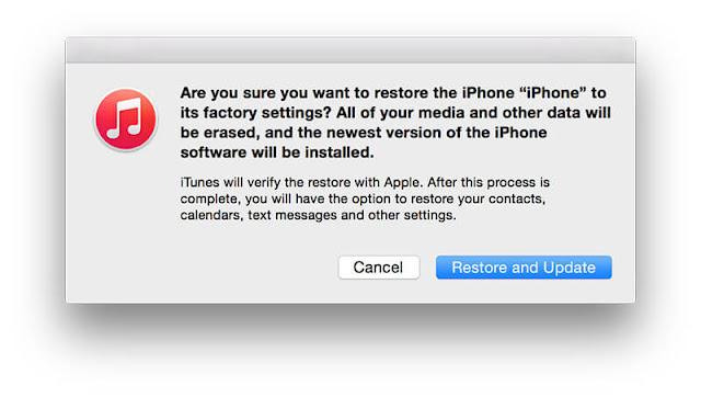 طريقة الرجوع من iOS 11.2.5 إلى iOS 11.2.2