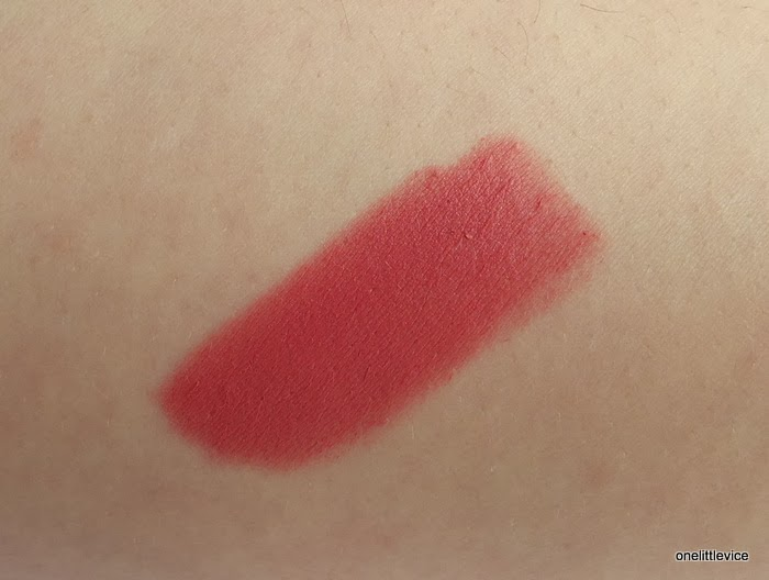 pink everyday satin finish staining drugstore lipstick