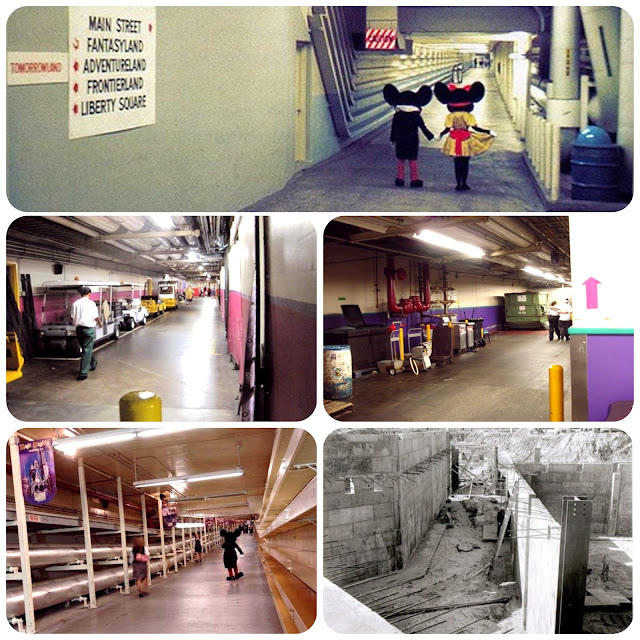 Utilidors - Magic Kingdom