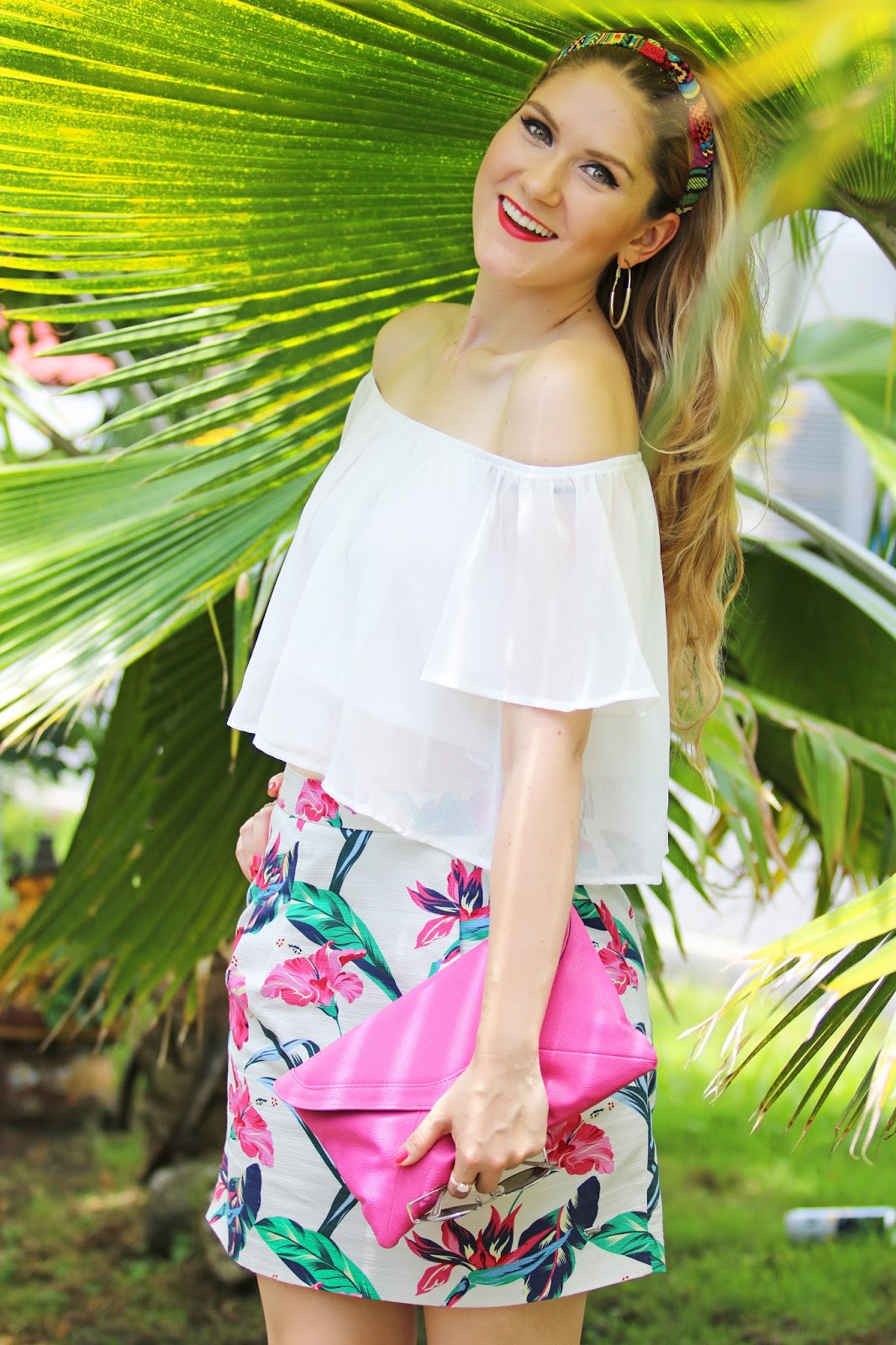 Tropical Outfit for a hot Summer Day!