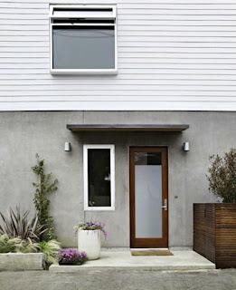 Narrow lot prefab house, Santa Monica, CA