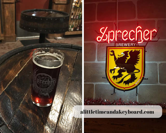 Sprecher Brewing Co. Brewery Tour in Glendale, Wisconsin
