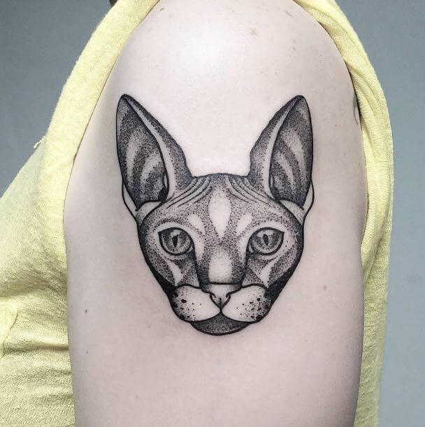 sphinx Cat Tattoos