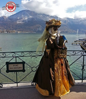 Carnaval veneciano de Annecy, Francia