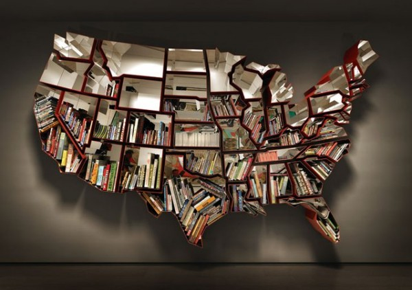 Bookshelf by Ron Arad