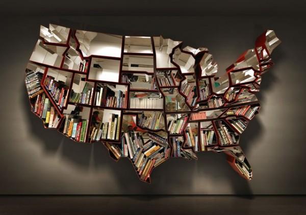 Bookshelf by Ron Arad