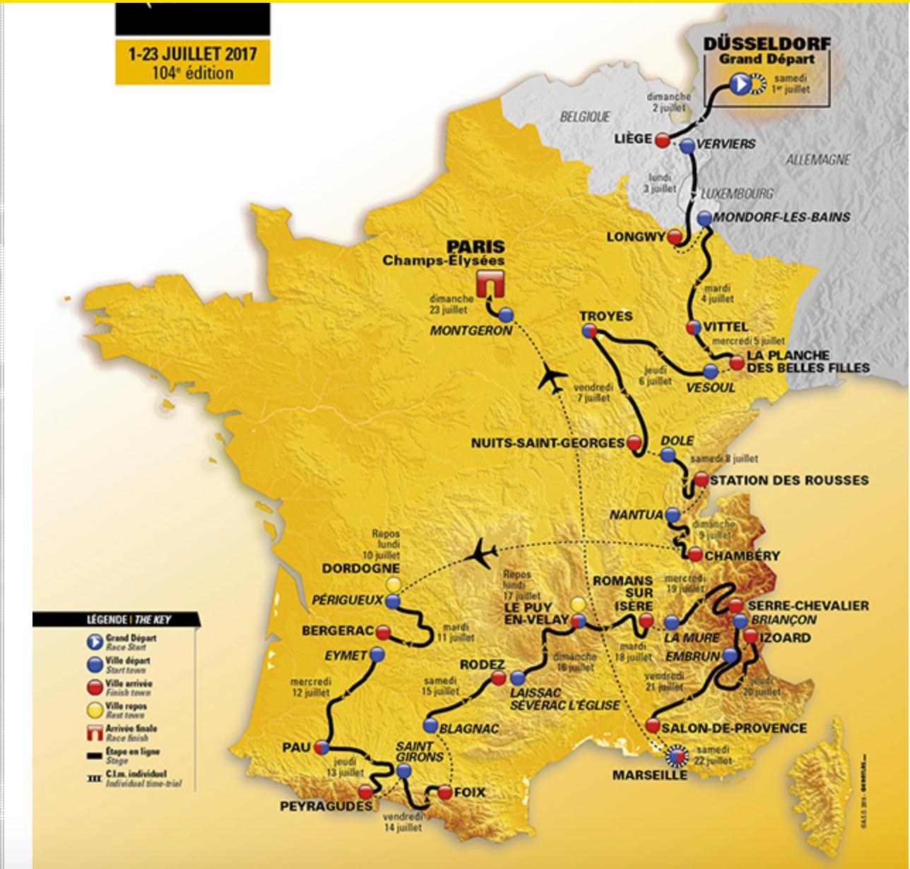 5f6a936d3 2017 Le Tour de France starts tomorrow in Düsseldorf